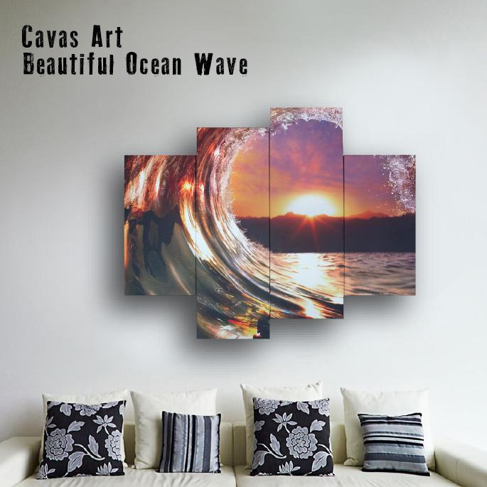 アート キャンバスアート ベロ― Canvas Art Bello IPT-61746 JIG Beautiful ocean wave 美術品 写真 絵画 キャンバスアート インテリア 西海岸 ヴィンテージ おしゃれ