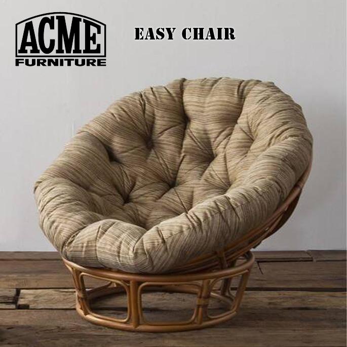 チェア 1000mm ウィッカーイージーチェア WICKER EASY CHAIR アクメ ファニチャー ACME Furniture 18700970059670 18700970059470 RATTAN ベージュ カーキ1Pソファ 1シーター リビングチェア 西海岸 カリフォルニア ビンテージ