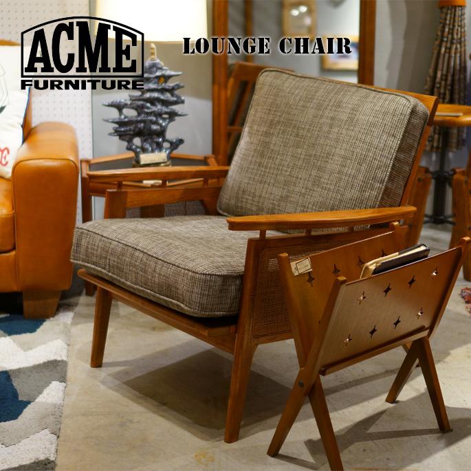 チェア 695mm ウィッカーラウンジチェア WICKER LOUNGE CHAIR アクメ ファニチャー ACME Furniture 17700970010570 HACKBERRY1Pソファ 1シーター 西海岸 カリフォルニア ビンテージ