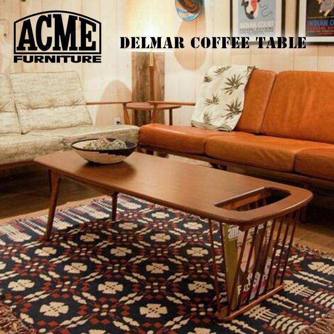 テーブル 1300mm デルマー コーヒーテーブル DELMAR COFFEE TABLE アクメ ファニチャー ACME Furniture 16701970001770 PINE センターテーブル 西海岸 カリフォルニア ビンテージ