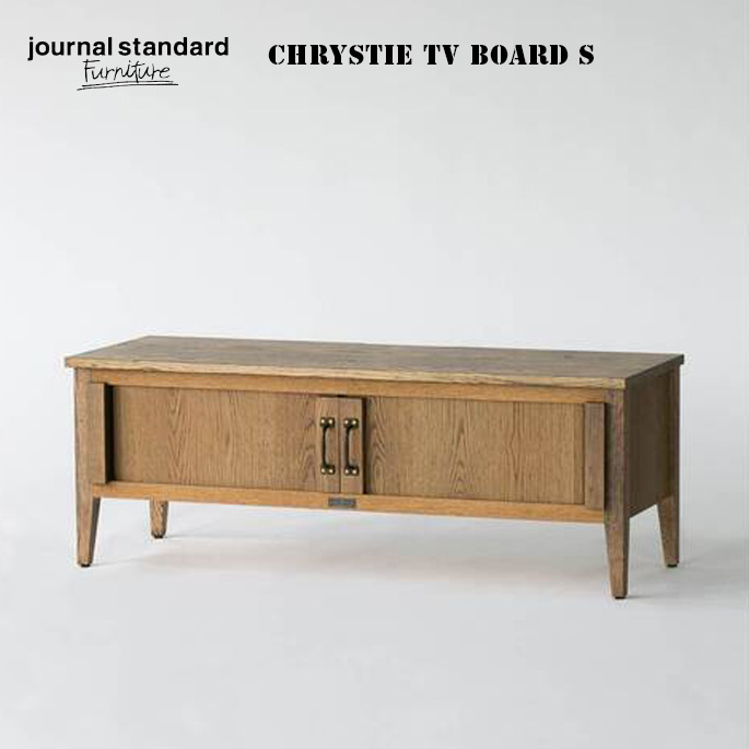 TVボード クリスティ テレビボード S CHRYSTIE TV BOARD S ジャーナルスタンダードファニチャー journal standard Furniture 19702960000170 オークTV台 テレビ台 西海岸 ビンテージ インダストリアル