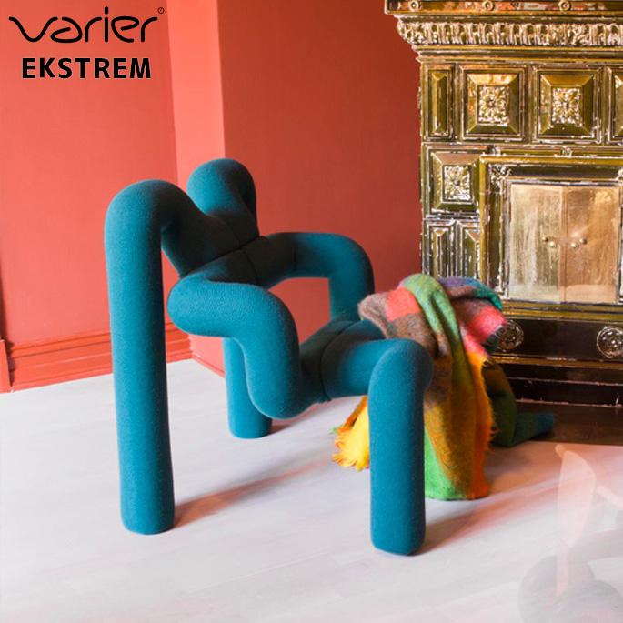 チェア エクストレム EKSTREM バリエール VARIER グレー グリーンバランスチェア イージーチェア 椅子 北欧 ナチュラル