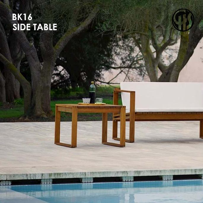 メーカー公式 サイドテーブル BK16 SIDE TABLE カールハンセン サン CARL HANSENSON ガーデンテーブル ガーデンファニチャー 無垢材 アウトドア リゾート 屋内外両用 開店記念セール 庭 ビーケー16 ベランダ テラス ウッドデッキ 屋外 バルコニー