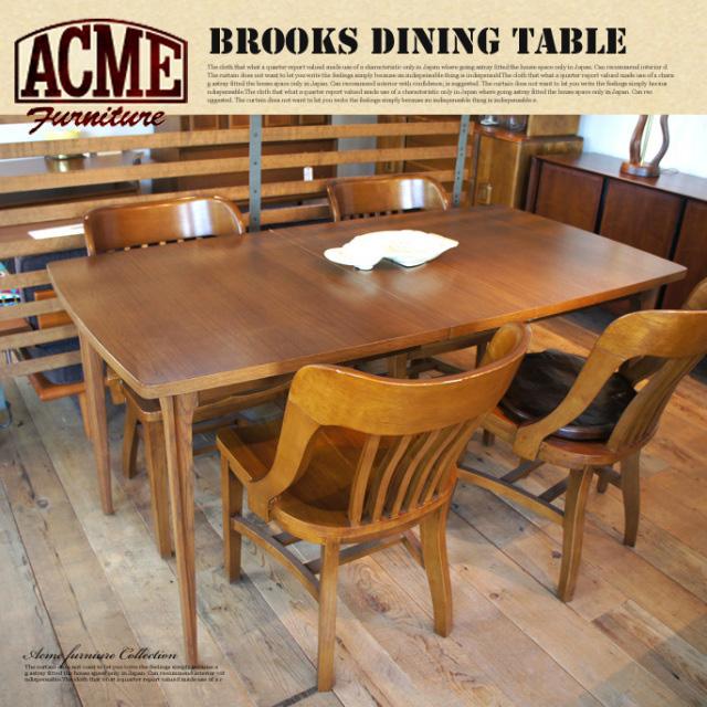 アクメファニチャー カフェスタイルインテリア レトロビンテージテイスト おしゃれな家具 アメリカンファニチャー アクメファニチャー ACME Furniture BROOKS DINING TABLE(ダイニングテーブル)