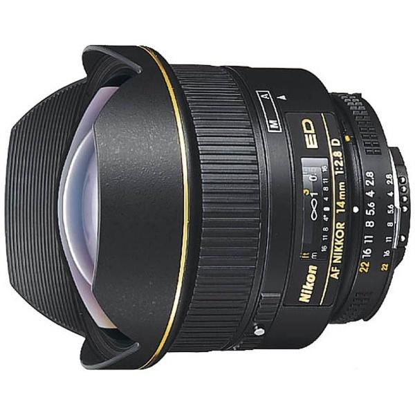 【送料無料】 ニコン カメラレンズ AF Nikkor ED 14mm F2.8D【ニコンFマウント】[AFED14F28D]