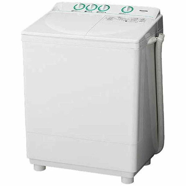 【標準設置費込み】 パナソニック Panasonic NA-W40G2-W 2槽式洗濯機 ホワイト [洗濯4.0kg /乾燥機能無 /上開き][NAW40G2] panasonic