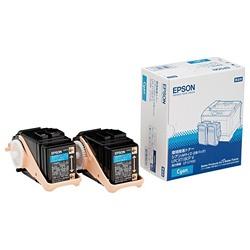 【送料無料】 エプソン EPSON 【純正】 環境推進トナー (シアン・Mサイズ×2) LPC3T18CPV
