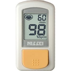 【送料無料】 日本精密測器 指先クリップ型パルスオキシメータ(経皮的動脈血酸素飽和度計)「パルスフィット」 BO-800[BO800]