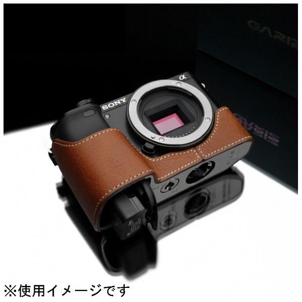 【送料無料】 Kカンパニー 本革カメラケース 【ソニー α6000用】(キャメル) XS-CHA6000CM[XSCHA6000CM]