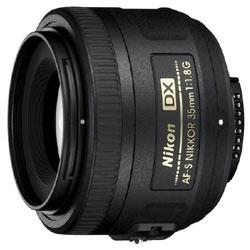【送料無料】 ニコン 【1000円OFFクーポン 9/6 23:59まで!】カメラレンズ AF-S DX Nikkor 35mm F1.8G【ニコンFマウント(APS-C用)】[AFSDX35MMF18G]