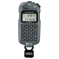 【送料無料】 セイコー SEIKO デジタルストップウオッチ、時間計算機能付き(最小測定単位1/1秒) SVAX001
