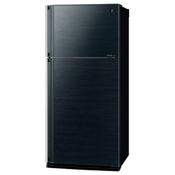【標準設置費込み】 シャープ SHARP 【1000円OFFクーポン 11/12 10:00~11/23 09:59】SJ-55W-B 冷蔵庫 ブラック系 [2ドア /右開きタイプ /545L][SJ55WB]