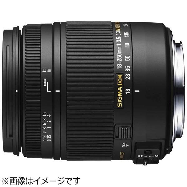 【送料無料】 シグマ カメラレンズ 18-250mm F3.5-6.3 DC MACRO HSM【ペンタックスKマウント】[182503.56.3DCMACRO]