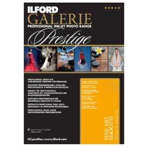 【送料無料】 イルフォード ファインアートスムース 220g/m2 (A3+サイズ・25枚) FINE ART SMOOTH 422233