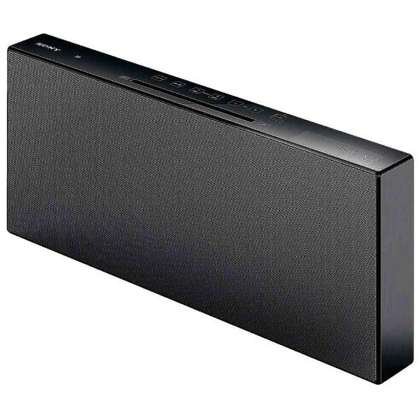 【送料無料】 ソニー SONY 【ワイドFM対応】Bluetooth対応 マルチコネクトコンポ(ブラック) CMT-X7CD BC[CMTX7CDBC]