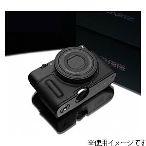 【送料無料】 GARIZ 本革カメラケース 【ソニー サイバーショット DSC-RX100/RX100M2兼用】(ブラック) HG-RX100IIBK[生産完了品 在庫限り][HGRX100IIBK]