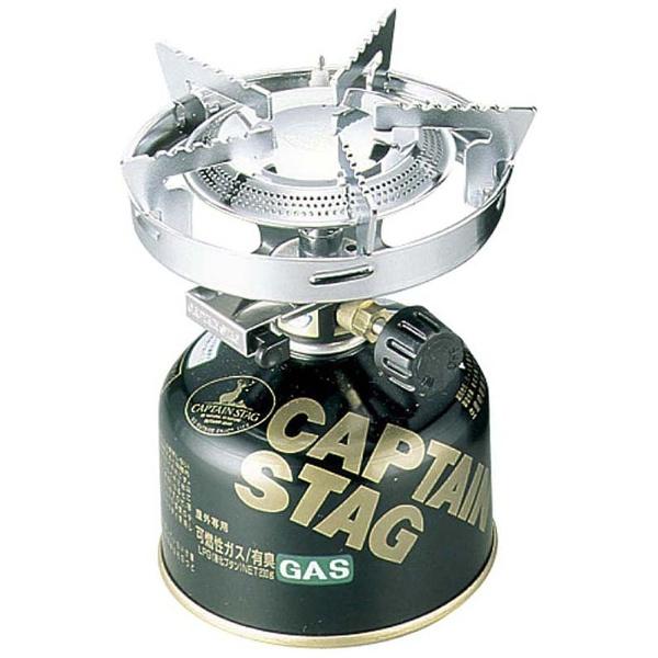 【送料無料】 キャプテンスタッグ 小型ガスバーナーコンロ〈圧電点火装置付〉(ケース付)M-7901E M7901