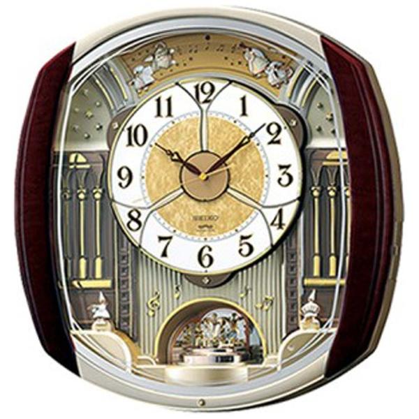 【送料無料】 セイコー 電波からくり時計 「ウェーブシンフォニー」 RE564H 【メーカー直送・代金引換不可・時間指定・返品不可】
