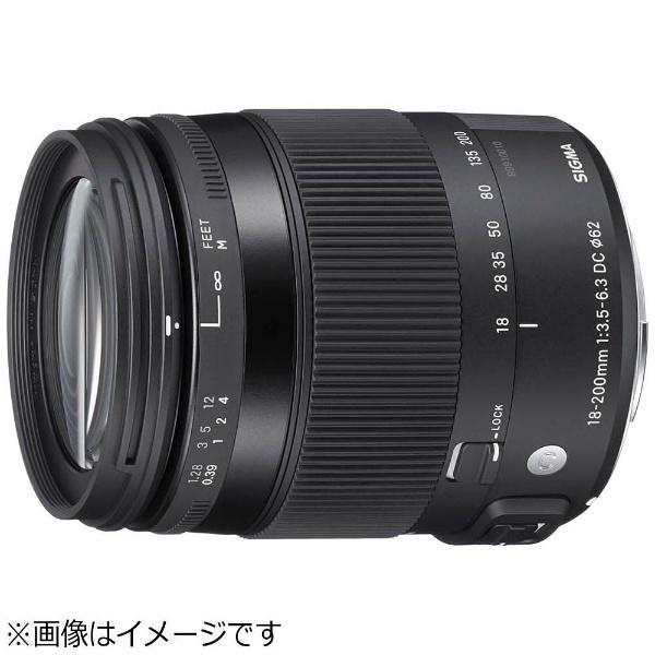 【送料無料】 シグマ カメラレンズ 18-200mm F3.5-6.3 DC MACRO OS HSM【キヤノンEFマウント(APS-C用)】[18200F3.56.3DCMACROO]