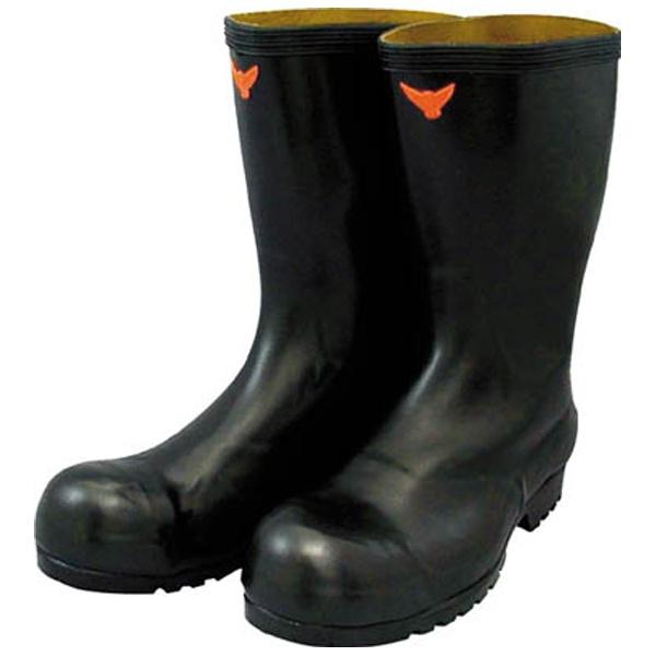 【送料無料】 シバタ工業 安全耐油長靴(黒) SB02126.0