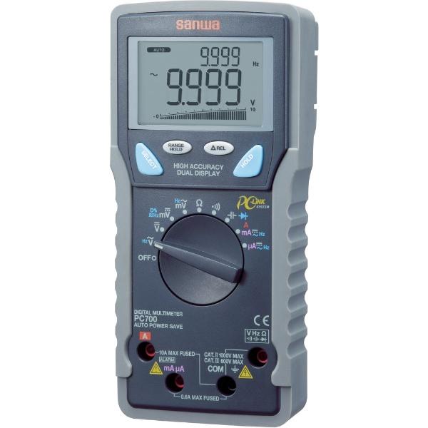 【送料無料】 三和電気計器 デジタルマルチメータ パソコン接続型 PC700, HUGEST:41511e3e --- yasuragi-osaka.jp