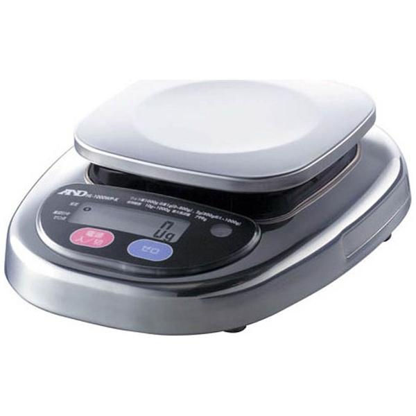 【送料無料】 A&D(エーアンドディ) 防塵・防水デジタルはかり ウォーターボーイ 皿寸法 128×128mm HL3000WP