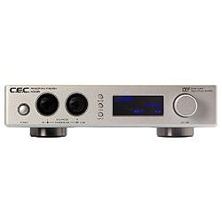 【送料無料】 CEC ヘッドホンアンプ(シルバー) HD53N