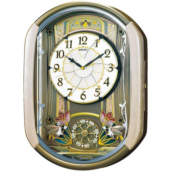 【送料無料】 セイコー 電波からくり時計 「ウェーブシンフォニー」 RE567G