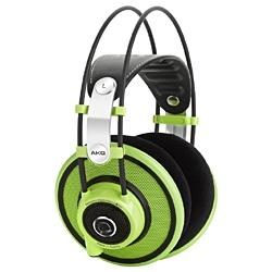 【送料無料】 AKG ヘッドホン (DJ&スタジオモニター用/グリーン) Q701GRN 3.0mコード