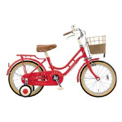 【送料無料】 ブリヂストン 18型 幼児用自転車 ハッチ(レッド)HC182【組立商品につき返品不可】 【代金引換配送不可】