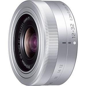 【送料無料】 パナソニック Panasonic カメラレンズ LUMIX G VARIO 12-32mm/F3.5-5.6 ASPH./MEGA O.I.S.【マイクロフォーサーズマウント】(シルバー)[HFS12032]