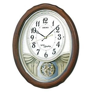 【送料無料】 セイコー SEIKO 電波からくり時計 AM257B