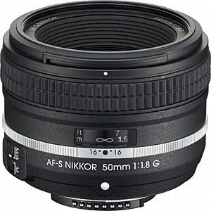 【送料無料】 ニコン カメラレンズ AF-S Nikkor 50mm f/1.8G(Special Edition)【ニコンFマウント】[AFS501.8GSE]