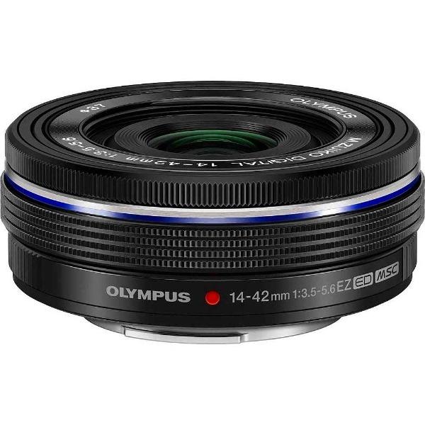 【送料無料】 オリンパス カメラレンズ M.ZUIKO DIGITAL ED 14-42mm F3.5-5.6 EZ【マイクロフォーサーズマウント】(ブラック)[ED1442MMF3.55.6EZブラ]