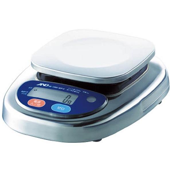 【送料無料】 A&D(エーアンドディ) 防塵防水デジタルはかり(検定付・2区) HL2000IWPKA2