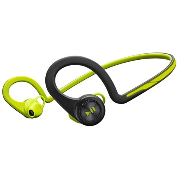 Smartphone compatible Plantronics BackBeat FIT [Bluetooth3.0] with a headset USB charging cable (green)