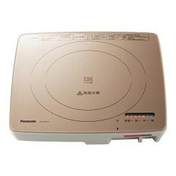 【送料無料】 パナソニック Panasonic 卓上型IH調理器 (1口) KZ-PS1P-N シャンパンゴールド[KZPS1PN] panasonic
