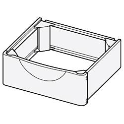 【送料無料】 日立 HITACHI 洗濯機置き台 TR-BD2[TRBD2]