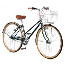 【送料無料】 アサヒサイクル 27型 自転車 ラ・ベール(グリーン/内装3段変速) YT7QLF【組立商品につき返品不可】 【代金引換配送不可】【メーカー直送・代金引換不可・時間指定・返品不可】
