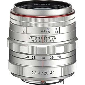 【送料無料】 ペンタックス PENTAX カメラレンズ HD PENTAX-DA 20-40mm F2.8-4ED Limited DC WR【ペンタックスKマウント(APS-C用)】(シルバー)[HDPENTAXDA2040MMF2.8]
