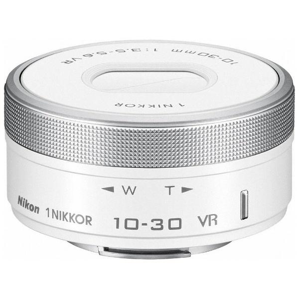 【送料無料】 ニコン カメラレンズ 1 Nikkor VR 10-30mm f/3.5-5.6 PD-ZOOM【ニコン1マウント】(ホワイト)[1NVR1030PDWH]