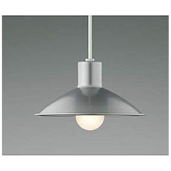 【送料無料】 コイズミ KOIZUMI LEDシンプルカラーペンダント AP38576L(ブライトシルバー) 電球色[AP38576L]