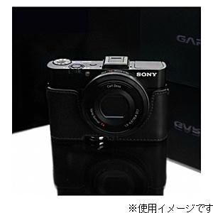 【送料無料】 GARIZ 本革カメラケース 【ソニー サイバーショット DSC-RX100/RX100M2兼用】(ブラック) XS-RX100IIBK3[生産完了品 在庫限り][XSRX100IIBK3]