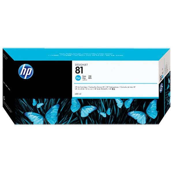 【送料無料】 HP ヒューレット・パッカード C4931A 純正プリンターインク 81 シアン