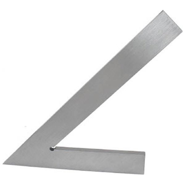 【送料無料】 大西測定 角度付平型定規(45度) 156B200