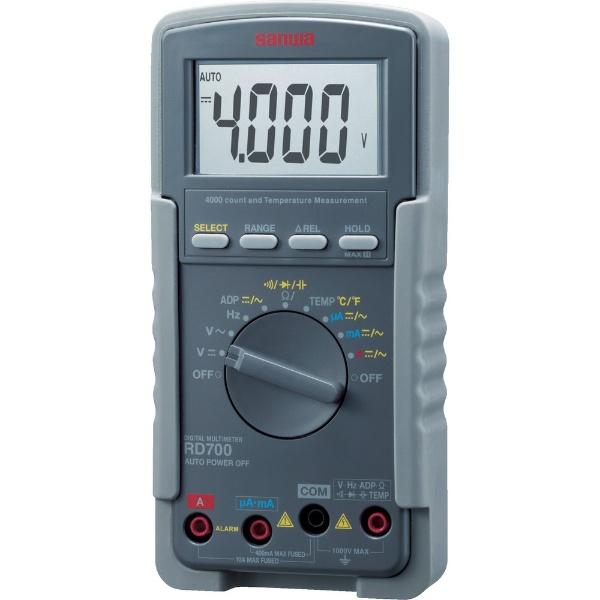 【送料無料】 三和電気計器 デジタルマルチメータ RD700