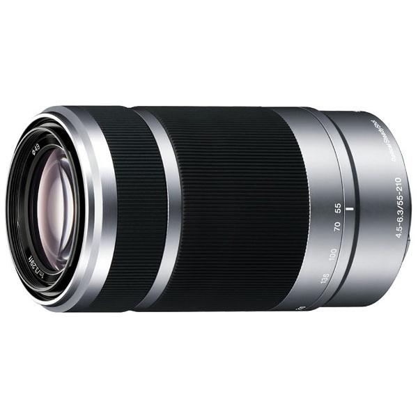 【送料無料】 ソニー SONY カメラレンズ E 55-210mm F4.5-6.3 OSS【ソニーEマウント(APS-C用)】[SEL55210]