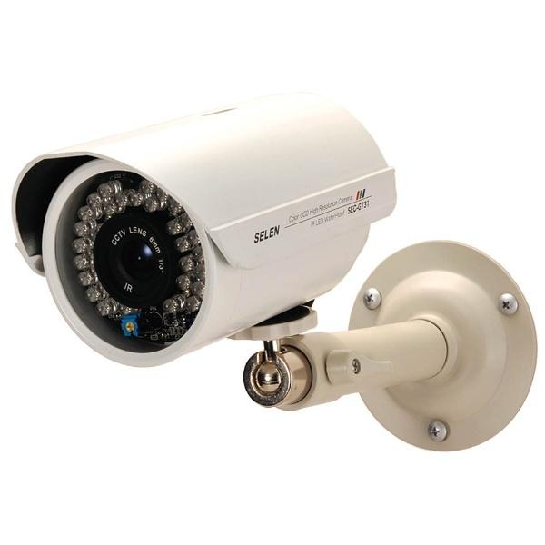 【送料無料】 セレン アナログ対応カラー監視カメラ【赤外線投光器内蔵・防水タイプ】 SEC-G731【point10】
