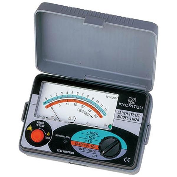 【送料無料】 共立電気計器 アナログ接地抵抗計(ソフトケース) MODEL4102A