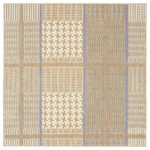 【送料無料】 スミノエ ラグ ウォームグレン(190×240cm/ブラウン)【日本製】